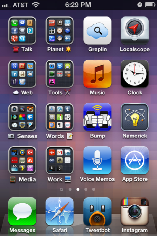Экран iPhone