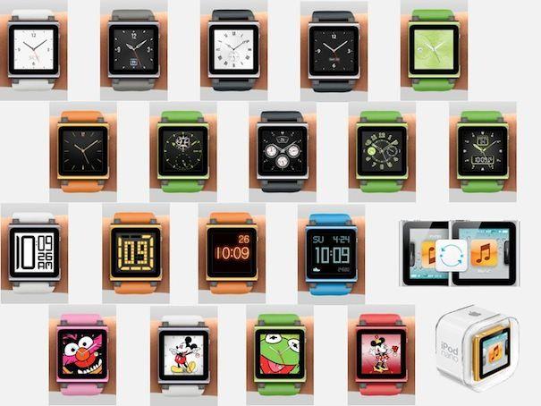 iPodnano watches