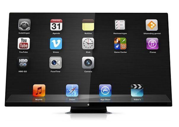 iTV - телевизор от Apple