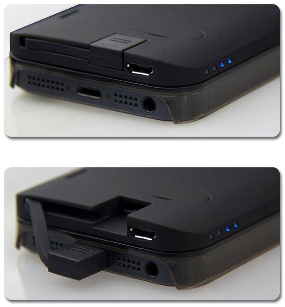 Дополнительная батарея ikit nucharger для iphone 5