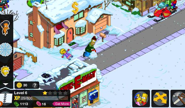 in-app purchase Simpsons