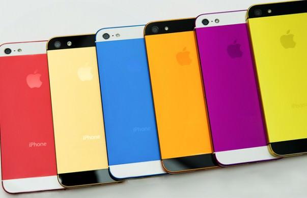 iphone 5s 6 цветов