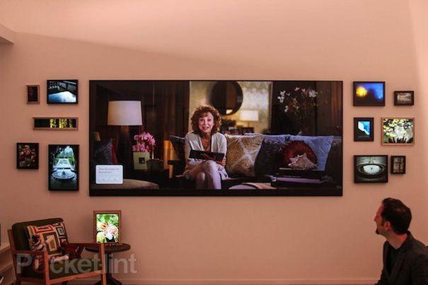 120 дюймовый телевизор MIcrosoft