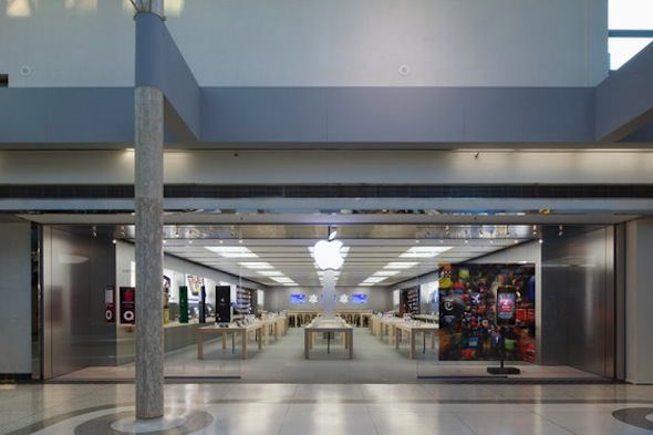 apple store в Ванкувере