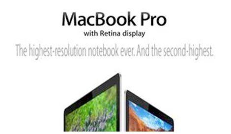 macbook с дисплеем Retina