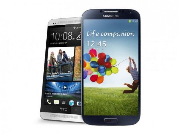 Galaxy S 4 против HTC One