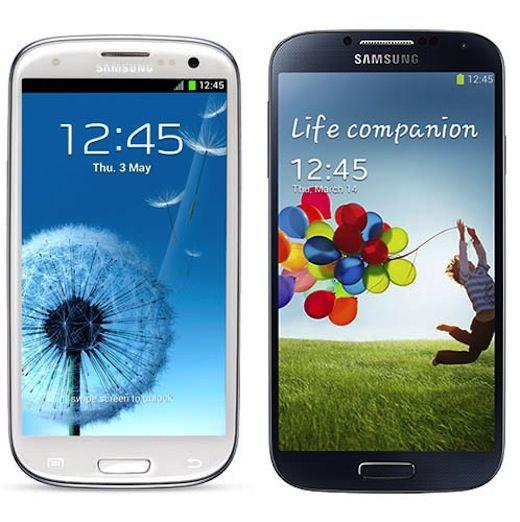 Сравнение samsung galaxy S4 и samsung galaxy s3