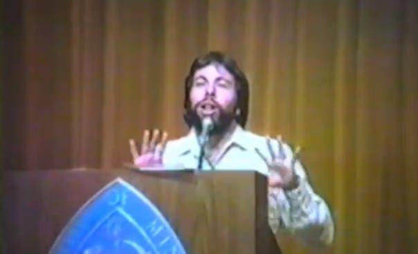 Стив Возняк в видео 1984 года