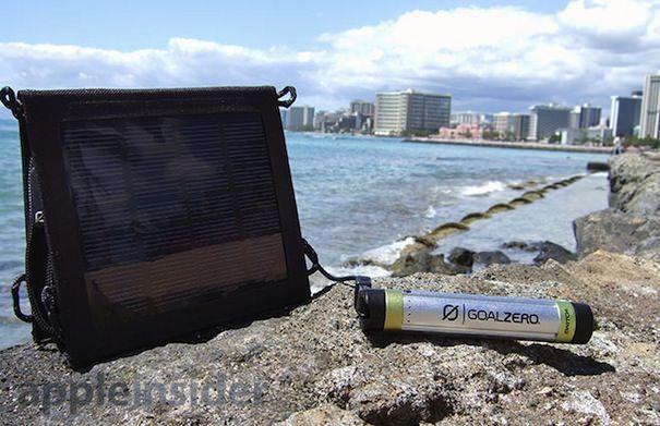 зарядное устройство на солнечных батареях для iPhone
