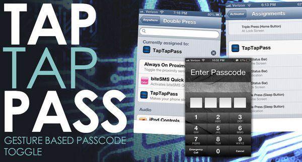 TapTapPass твик Cydia