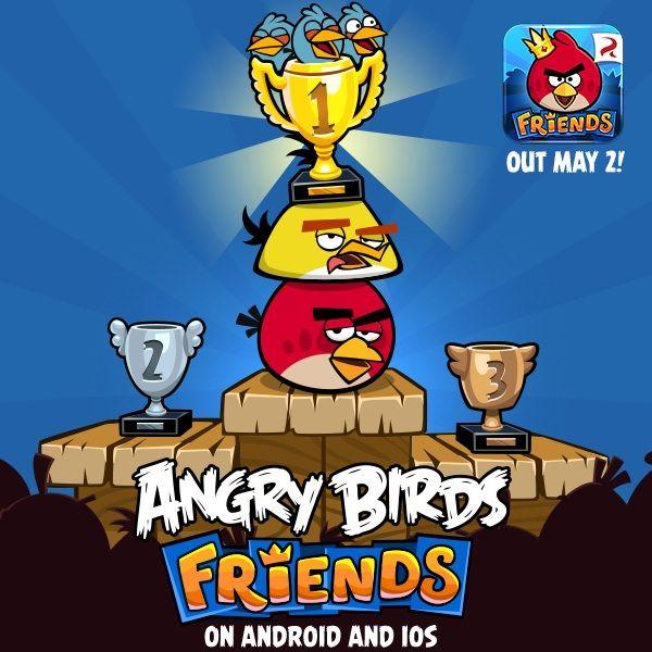 Angy Birds Friends для iPhone