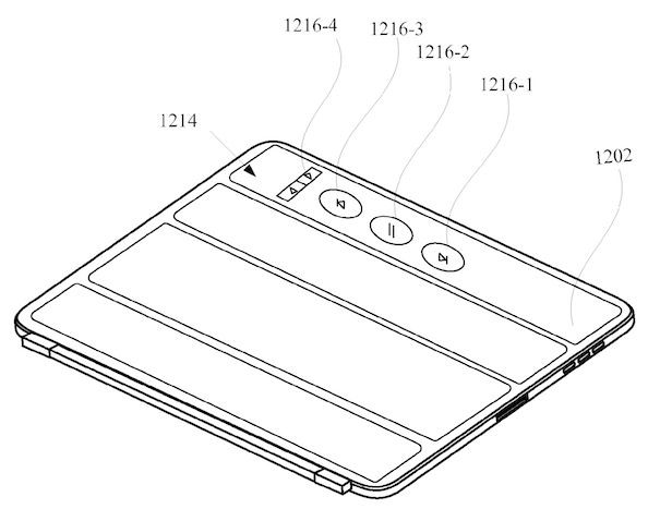 Apple seethrough Smart Cover patent