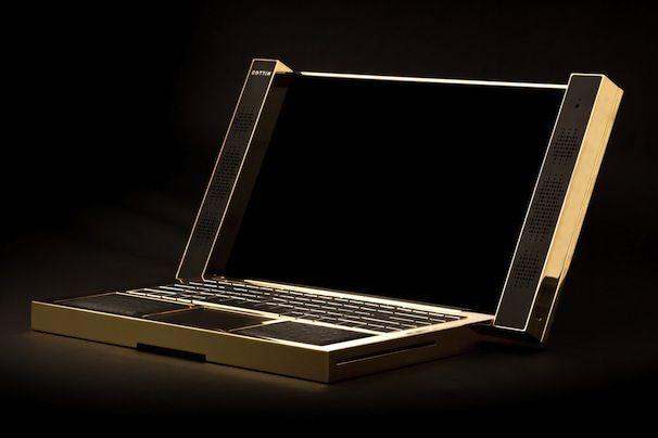Самый дорогой ноутбук Cottin413 versal notebook