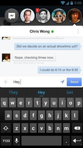 Facebook Messenger для Android