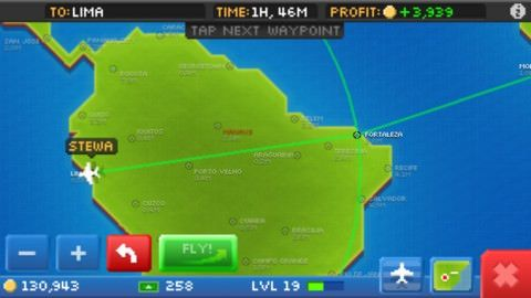 Pocket Planes - For iPhone 5 - iPad 4 - iPod pg