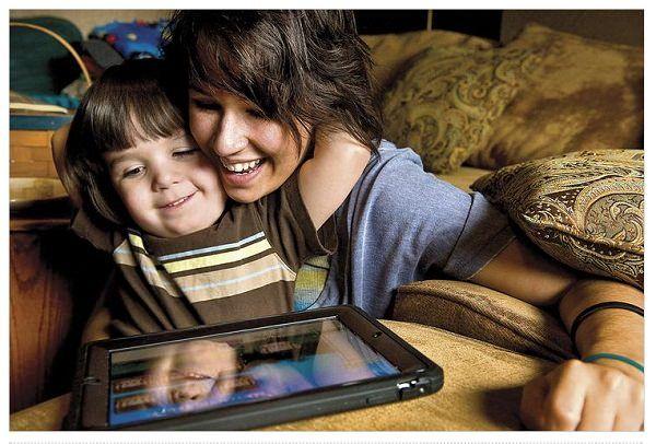 Родители, дети и  современные технологии