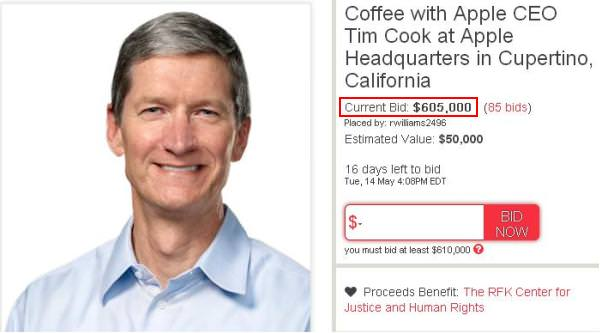 Coffee with Tim Cook