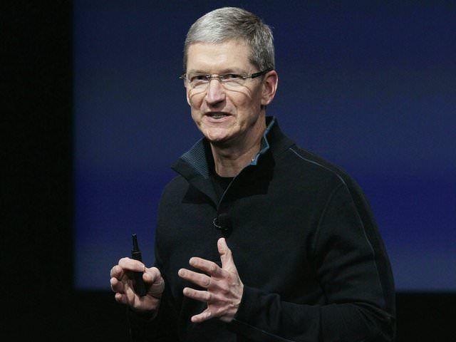 Текущий генеральный директор Apple Тим Кук