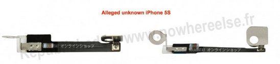 iPhone 5S фото комплектующих