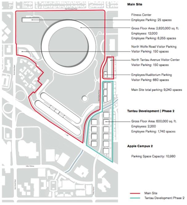 План кампуса Apple