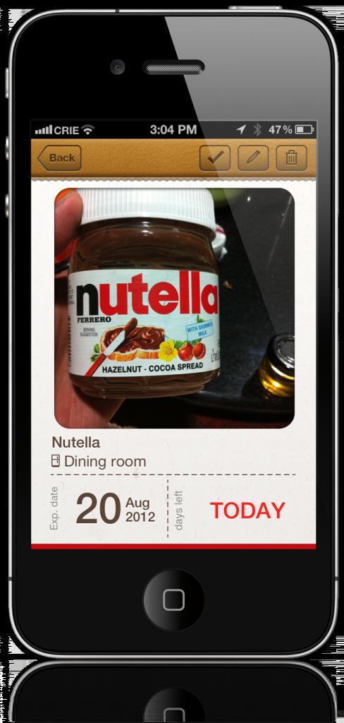 iPhone – «виртуальный холодильник» отслеживает сроки годности продуктов