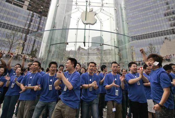 apple в Китае