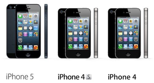 Текущая линейка продукции Apple