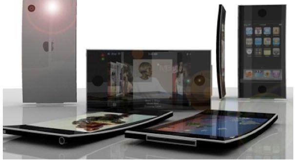 iPhone с изогнутым экраном