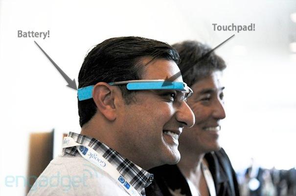 Как устроены очки Google Glass
