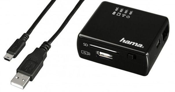 беспроводной кард ридер hama wi-fi-