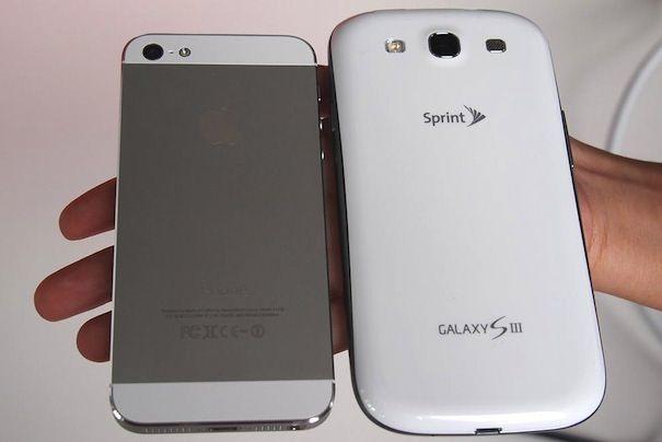 iPhone-5 и Galaxy S3
