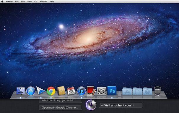 Siri в OS X 10.9