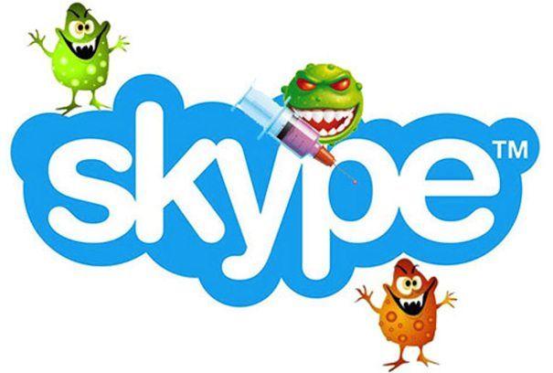 Вирусы в Skype