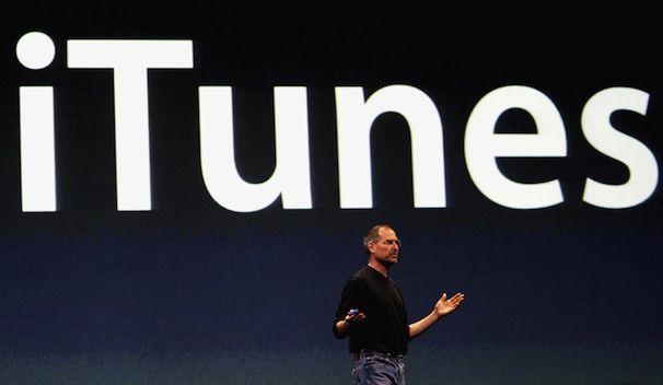 Стив Джобс iTunes