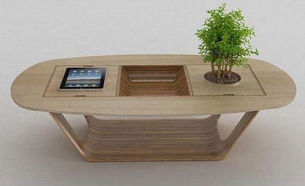 Сенсорный столик из iPad