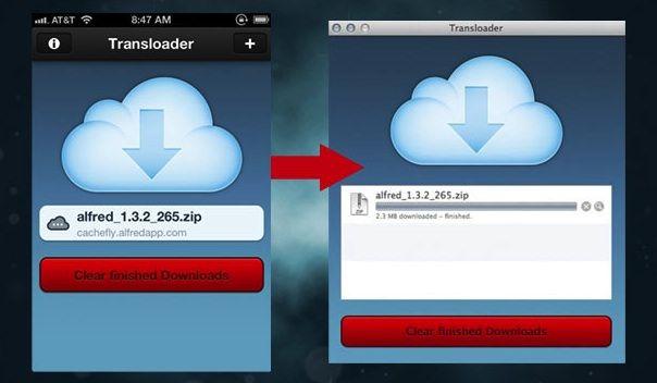Как скачивать файлы на OS x с помощью iPhone