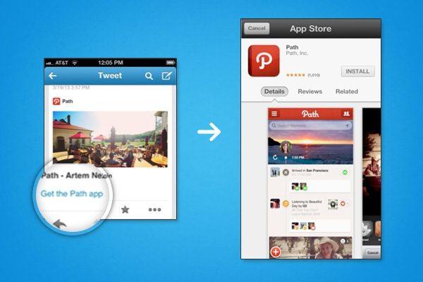 Скачать Twitter для iPhone и iPad с возможностью запуска и установки приложений из твитов