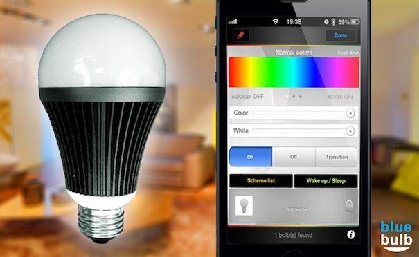 Беспроводная лампочка для iPhone