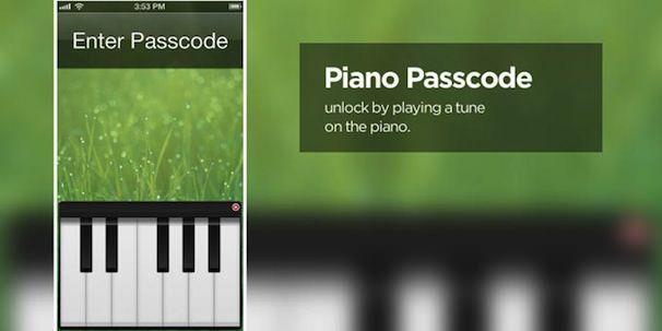 Твик из Cydia Piano Passcode