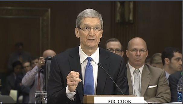 Тим Кук в Сенате