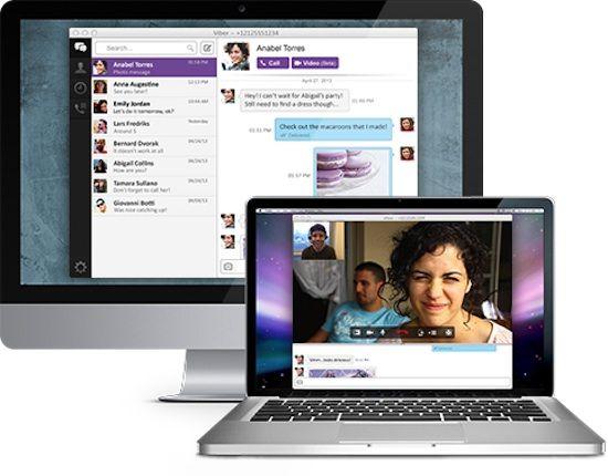 Viber для windows и mac