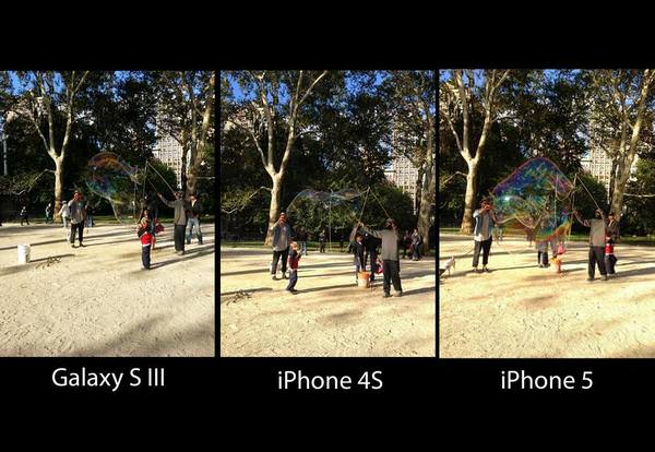 galaxy S3, iphone 5, iphone 4S