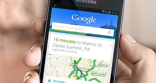 Сервис Google Now
