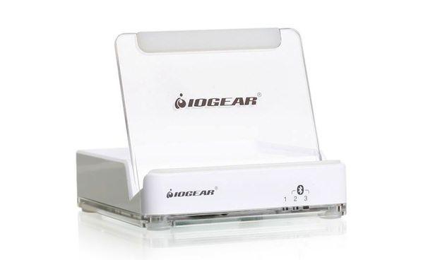 iogear bluetooth desktop dock for iphone