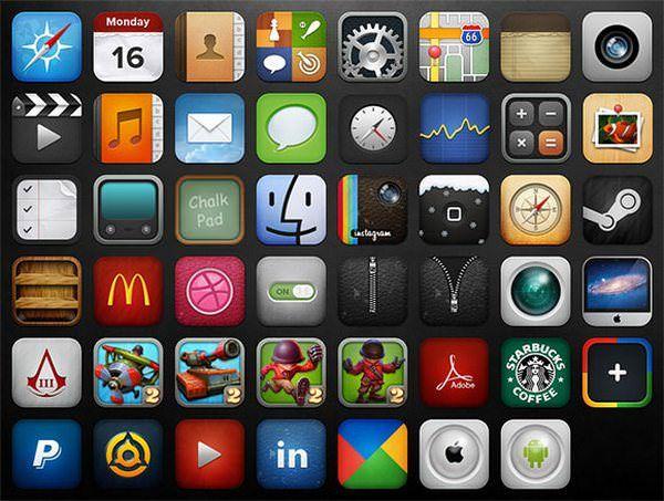 иконки iOS