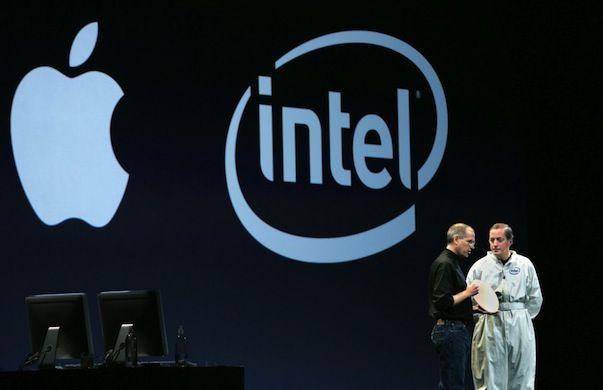 apple покупает Intel