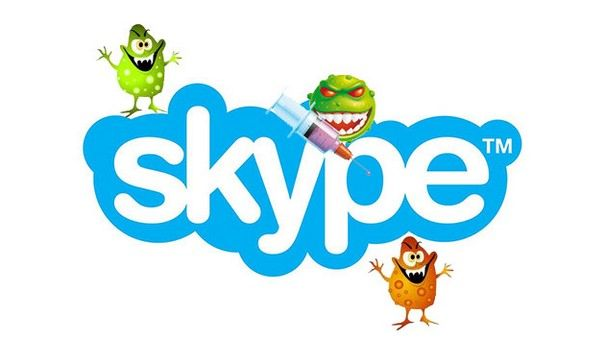 вирусная атака через Skype