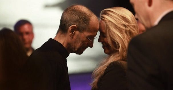 Стив Джобс и Лорен Пауэлл Джобс