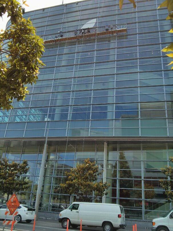 Баннеры WWDC 2013 на Moscone Center