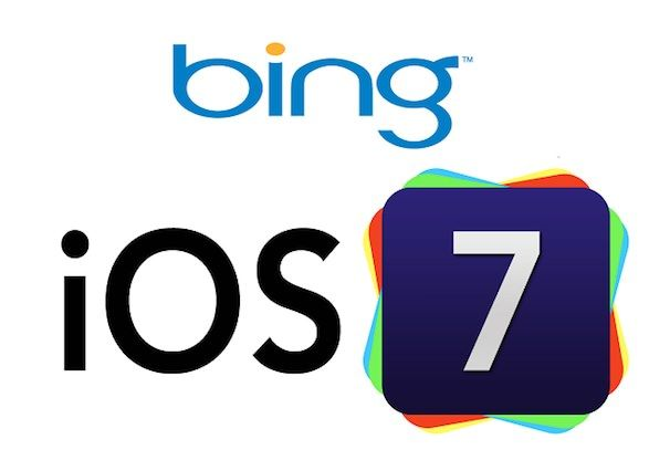 Bing iOS 7